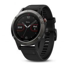 Garmin Fenix 5 Slate Grey with Black Band