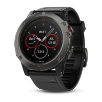 Garmin Fenix 5X Sapphire Slate Grey with Metal Band (έως 12 ΑΤΟΚΕΣ ΔΟΣΕΙΣ)