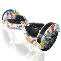 Smart Balance Wheel 10'' Hoverboard Άσπρο Graffiti OEM
