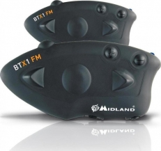 Midland BTX1 FM Plus (Twin pack)