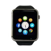 Smart Watch A1 - Smartphone with Touchscreen, Camera