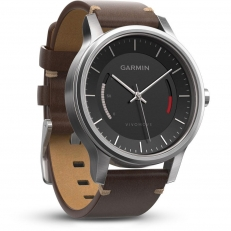 Garmin Vivomove Premium Stainless Steel (έως 12 άτοκες δόσεις)