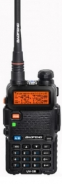 Baofeng UV-5R Φορητός dual band πομποδέκτης VHF/UHF έως 5.8W