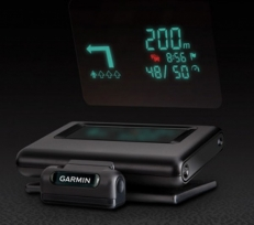 Garmin HUD - Head-Up Display