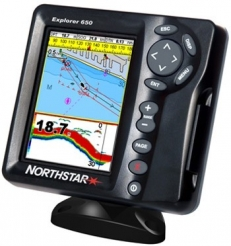 Northstar Explorer 650 with Transom 50/200kHz