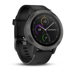 Garmin vivoactive 3, Black with Slate Hardware