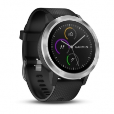 Garmin vivoactive 3, Black with Stainless Hardware