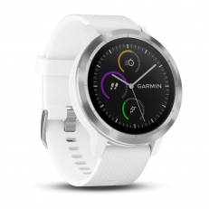 Garmin vivoactive 3, White with Stainless Hardware